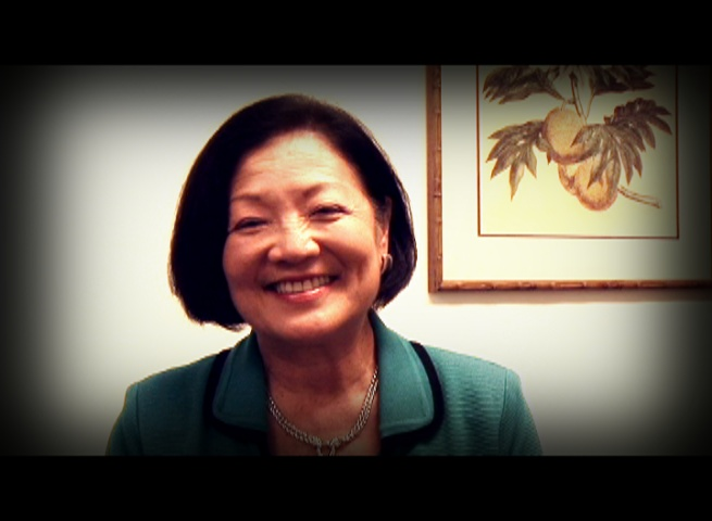 US Senator Mazie Hirono. Photo by Wendy Osher.
