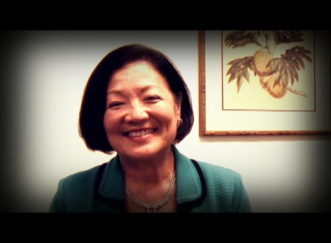 US Senator Mazie Hirono. Photo by Wendy Osher.