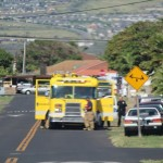 Kahului shed fire, 8/7/13. Photo by Wendy Osher.