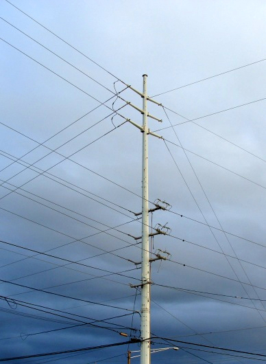 Power lines, file photo by Wendy Osher.