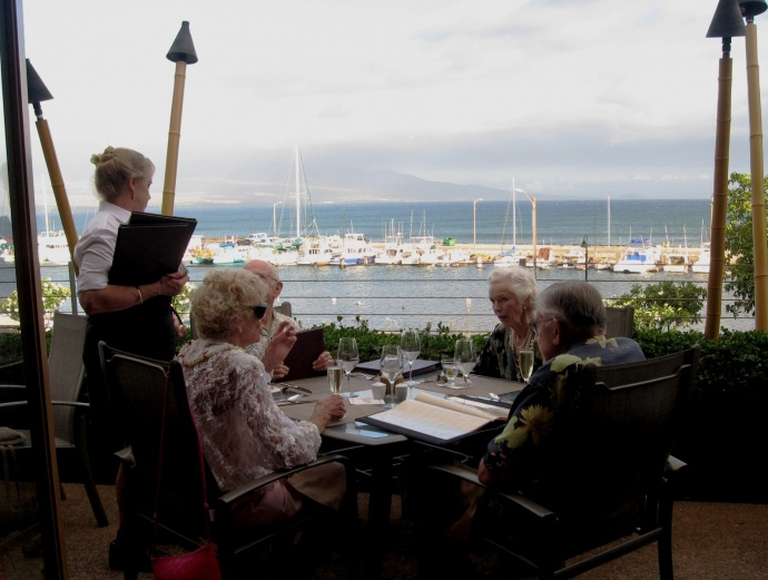 The view from the former Ma'alaea Waterfront Restaurant. File photo.