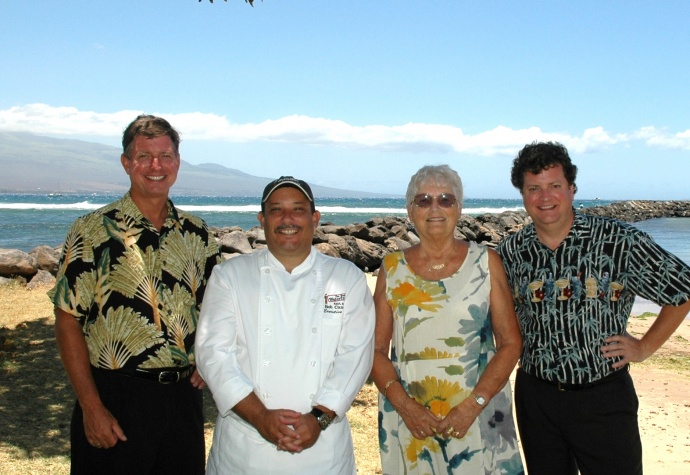 The owners and chef of the former Ma'alaea Waterfront Restaurant. File photo.