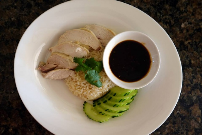 Khao Mun Gai, the Thai version of the famous Hainanese chicken dish. Courtesy photo