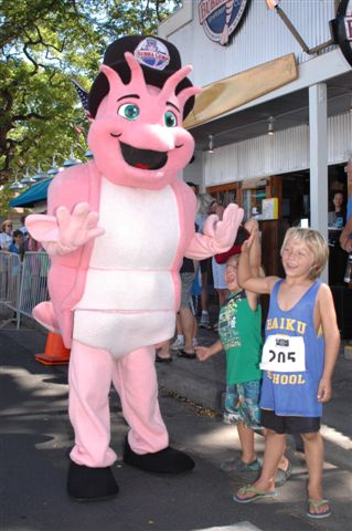 Participants in a previous Front Street Mile. Photo courtesy Maui Marathon