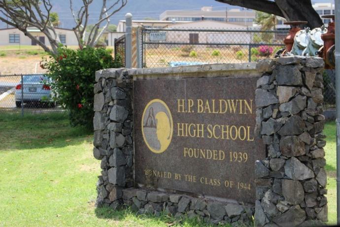 HP Baldwin High School. Photo by Wendy Osher.