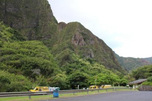 ʻĪao Valley rescue 9/10/13. Photo by Wendy Osher.
