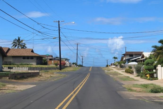 Holua Drive, Kahului. Photo by Wendy Osher.