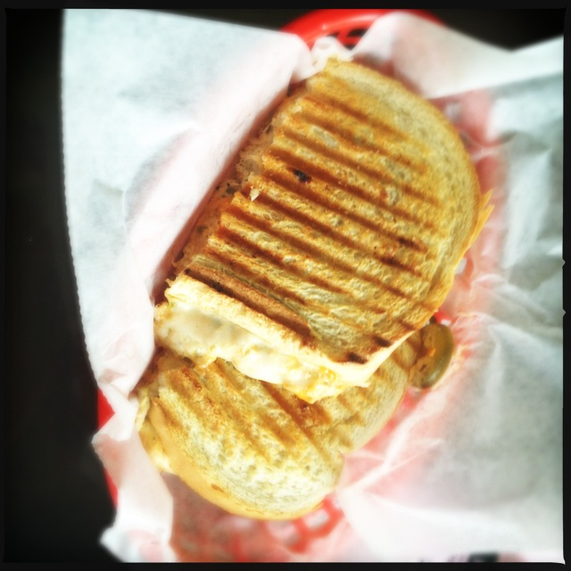 The Spicy Tuna Panini tastes more interesting than it looks. Photo by Vanessa Wolf
