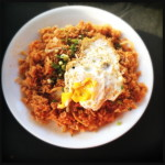 The Kimchee Fried Rice is made by witches. Photo by Vanessa Wolf