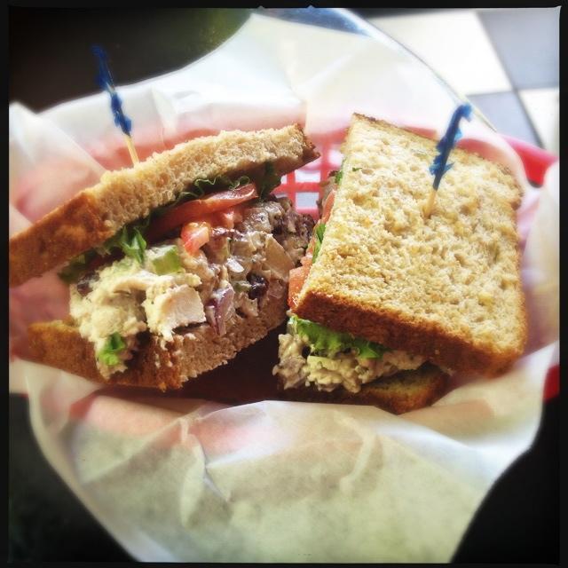 The Chicken Salad Sandwich. Photo by Vanessa Wolf