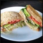 The Veggie-licious Sandwich. Photo by Vanessa Wolf