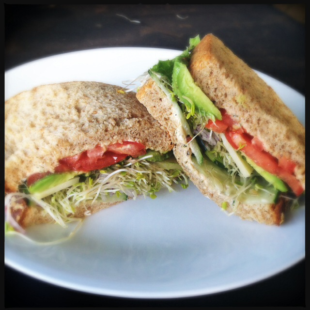 The Veggie-licious Sandwich. Photo by Vanessa Wolf