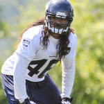 Maui linebacker John Lotulelei survived Saturday's final roster cut with the Seattle Seahawks. Photo by The Associated Press.