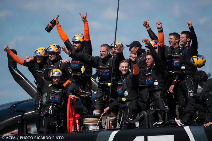 Day 15 of the Final Match at 34th America's Cup. Photo by © ACEA / RICARDO PINTO, courtesy America's Cup with express permission.