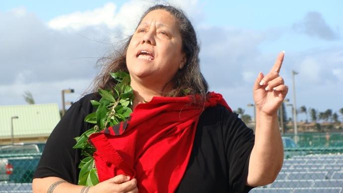 Hōkūlani Holt. File photo by Wendy Osher.