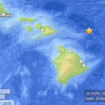 Few Report Feeling 3.9 Labor Day Hawaiʻi Quake