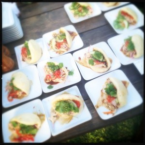 Chef Bancaco's Abalone Bao buns: divine. Photo by Vanessa Wolf