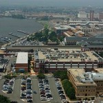 WASHINGTON (Sept. 16, 2013) An undated file photo of an aerial view of the Washington Navy Yard. (U.S. Navy photo/Released)