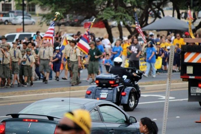 91st Maui Fair Parade 2013. (10/3/13)  Maui Now photo.