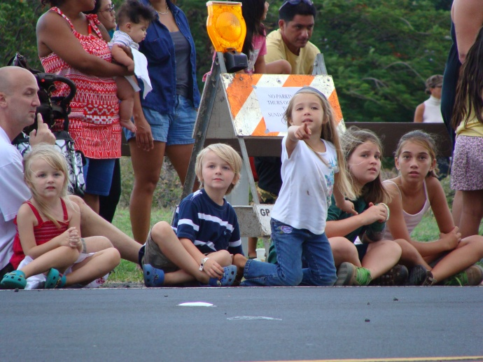 Maui Fair parade, file photo by Wendy Osher.
