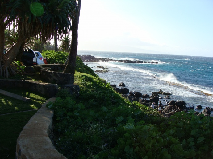 View from Mama's Fish House in Pāʻia, Maui. Photo by Wendy Osher.