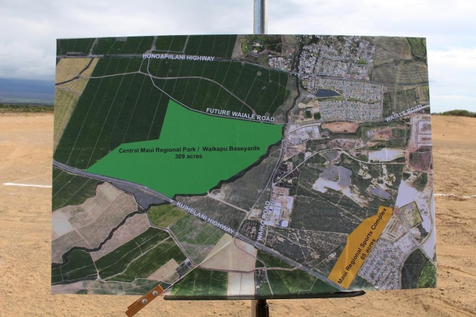 Central Maui Regional Park plans. Photo by Wendy Osher.