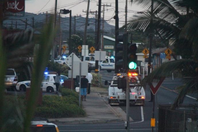 Lower Waiehu Beach Road, Oct. 28, 2013.  Photo by Wendy Osher.