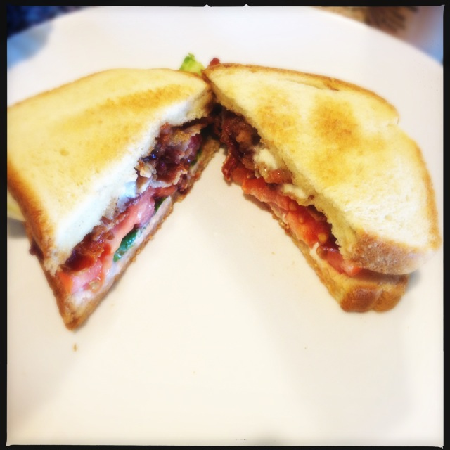 The BLT. Jack doesn't skimp on bacon. Photo by Vanessa Wolf