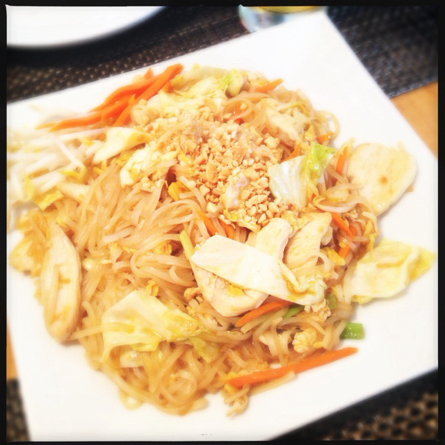 The Pad Thai. Photo by Vanessa Wolf