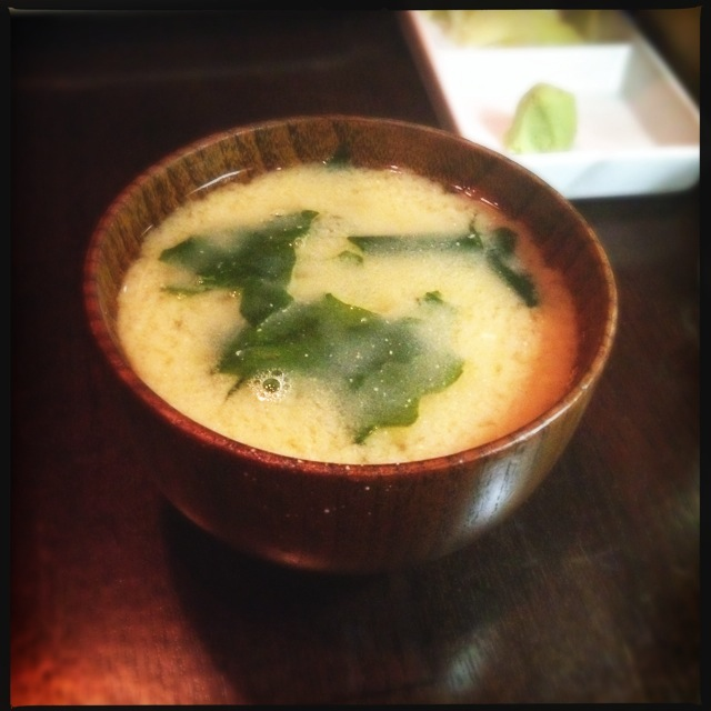 The Miso Soup. This is what you'll be dreaming about the next time you catch a cold. Photo by Vanessa Wolf