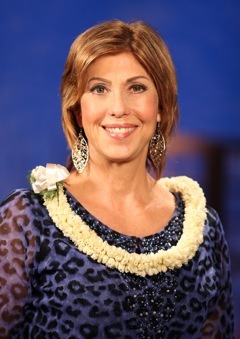 Leslie Wilcox. Photo Credit, Bryan Bosworth, PBS Hawaiʻi.