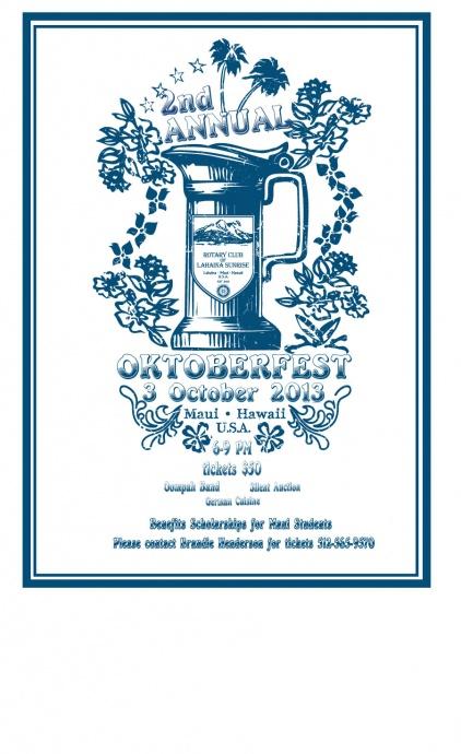 Oktoberfest 2013 Poster