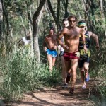 Wille Schefer was the men's 10K winner in 38 minutes, 22 seconds. Photo courtesy of XTERRA photos.