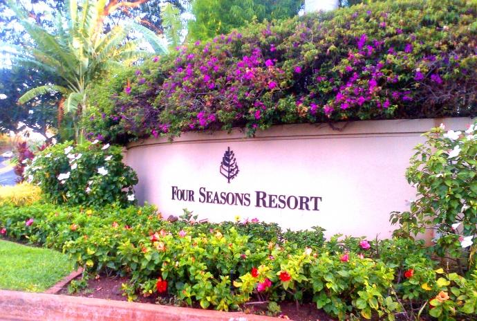 Four Seasons Maui at Wailea, photo by Wendy Osher.