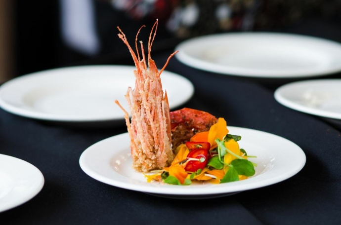 An appetizer from 2012's Noble Chef. Photo by Peter Liu.