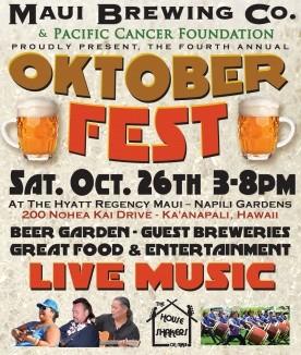 Oktoberfest event flyer.
