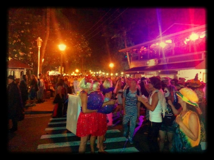 Lahaina Halloween 2013, photo courtesy MPD.