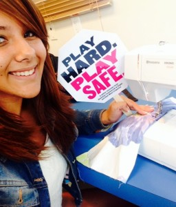 """4th Place: Boys & Girls Club.  HC&S and EMI """"Safety Selfie Competition."""" Courtesy photo."""