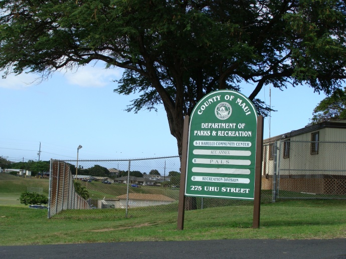 The Kokua pool is located at the Kahului Community Center in Central Maui. File photo by Wendy Osher.