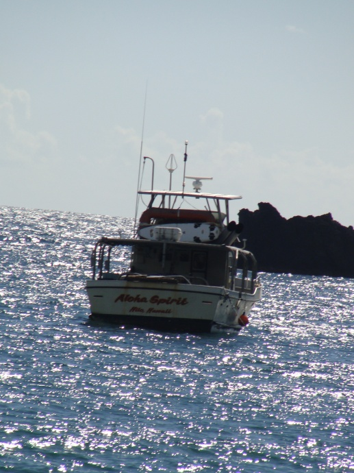 Fishing Hāna Bay, file photo by Wendy Osher.
