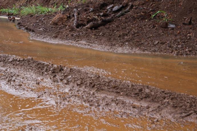Central Maui flooding. Maui Now photo 11/10/13.