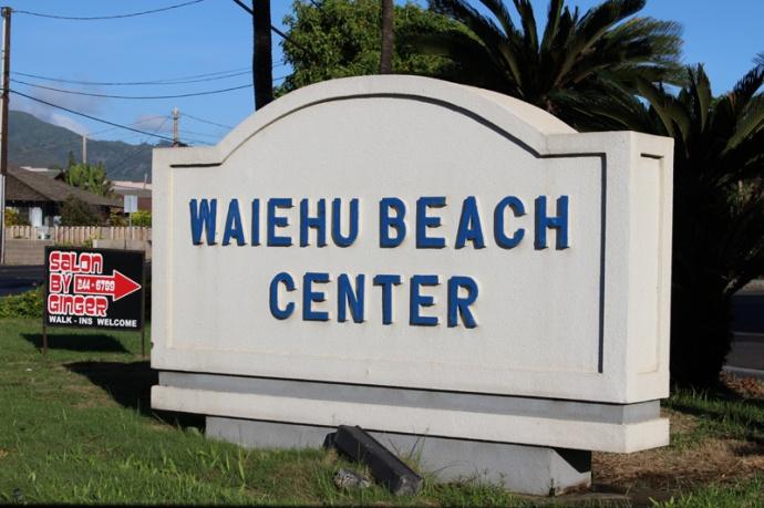 Waiehu Beach Center. Photo by Wendy Osher.