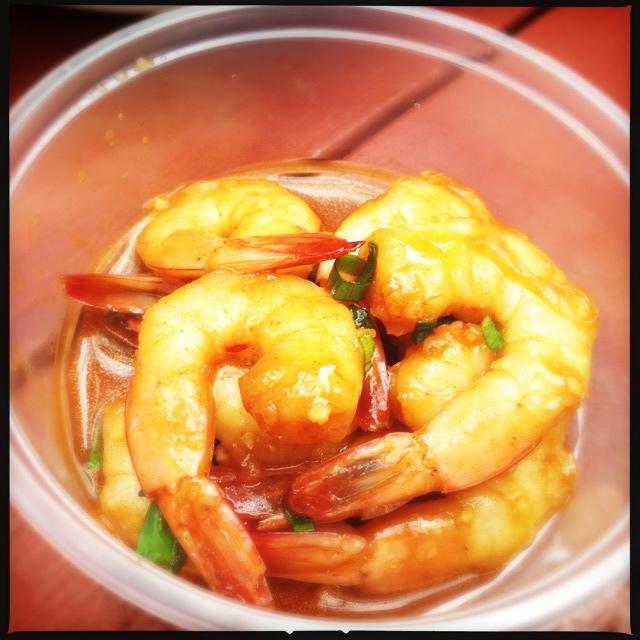 The Kim Chee Shrimp. Photo by Vanessa Wolf