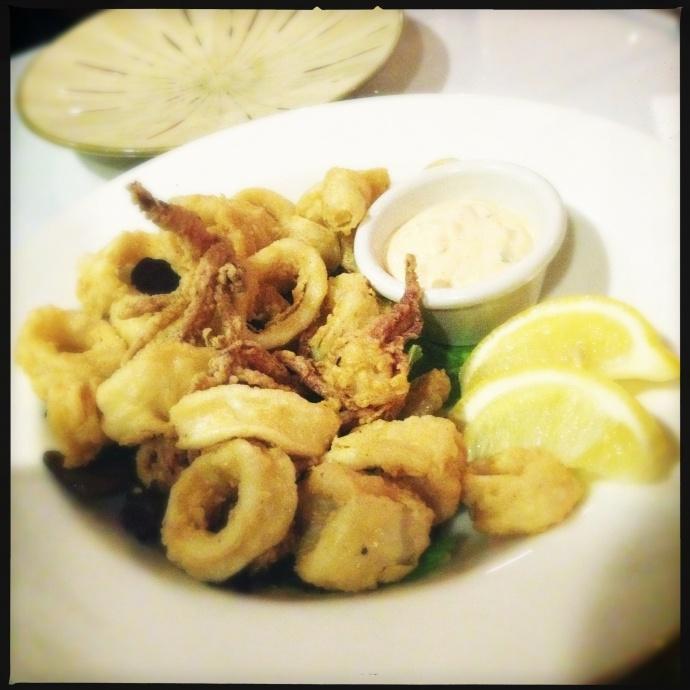 The Calamari. Photo by Vanessa Wolf