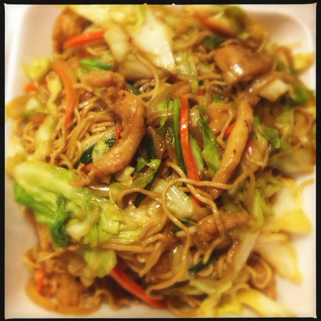 The Chicken Chow Mein is unremarkable. Photo by Vanessa Wolf