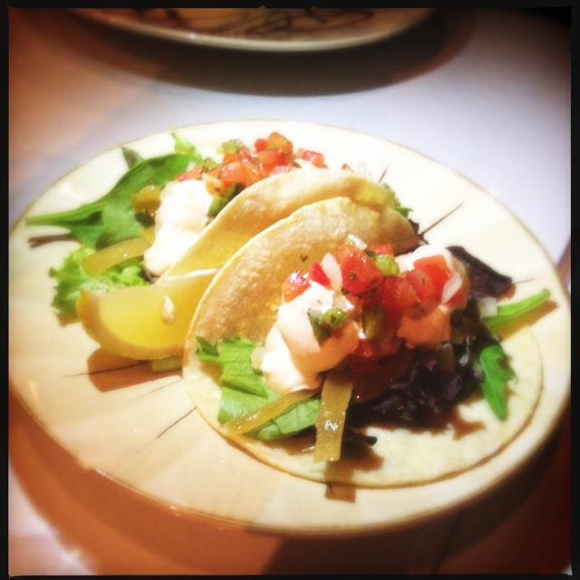 The Shrimp Mini Tacos. Photo by Vanessa Wolf