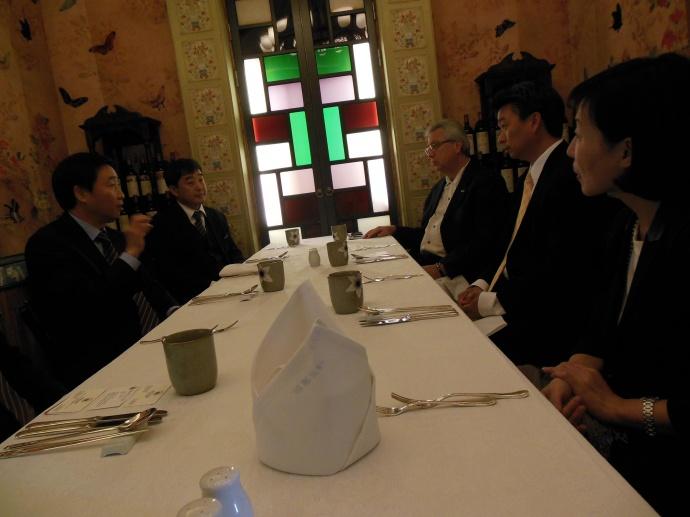 Lt. Gov. Tsutsui and Tourism Officials. Courtesy photo.