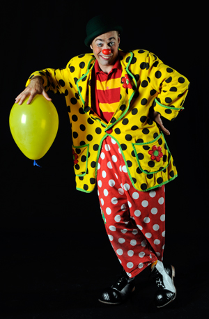 We warned you about the clowns. Photo courtesy Modern American Circus