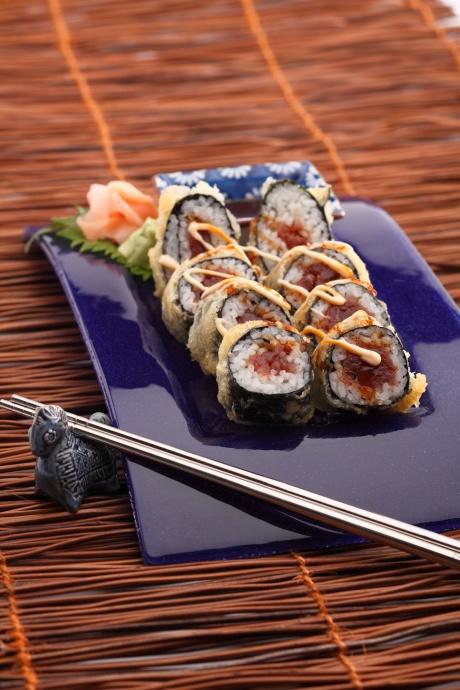 Ko's Oishi Sushi with spicy tuna. Courtesy photo