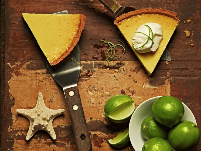 Tommy Bahama's Key Lime Pie. Courtesy photo.